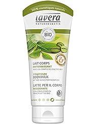 lavera Lait Corps RAFFERMISSANT Café vert bio, Thé vert bio, Raisin bio & Romarin bio • Vegan • Cosmétiques naturels • Ingrédients végétaux bio • 100% naturel (200ml)