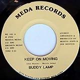 keep on moving / land of plenty 45 rpm single