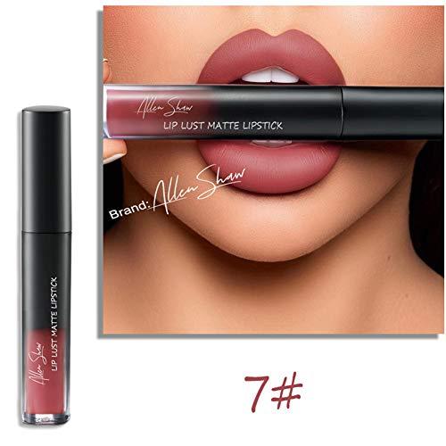 BOBORA Matte Liquid Lipstick Set Wasserdicht Langlebig Langlebig Durable Liquid Lipstick Set Matte...