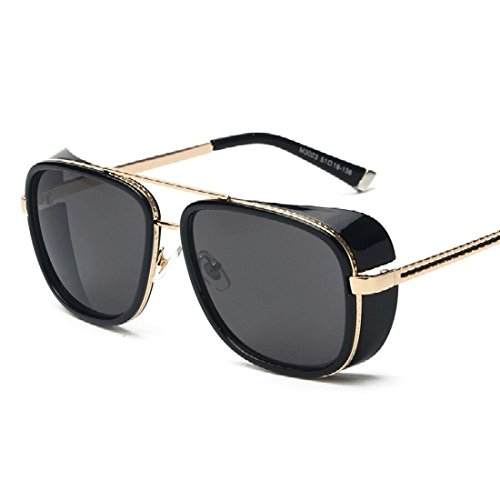 Generic Aviator Unisex Sunglasses(Av02|Black)