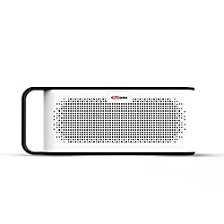 Portronics POR-775 SoundGrip Rechargeable Portable Bluetooth Wireless Stereo Speaker with Metallic Handle for Easy Grip, 3.5mm AUX, Powerful 6W Sound, In-built Mic and U Disk Music Play