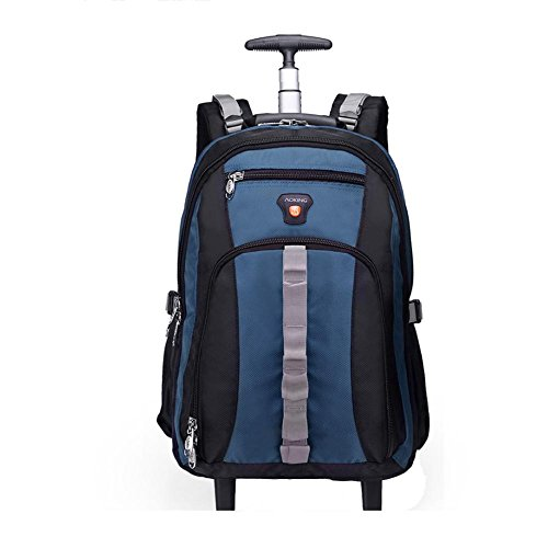 Shoulders-Rods-Bag-Ultra-lightweight-Multifunction-Suitcase-Laptop-Rucksack-Approval-Ryanair-Easyjet-British-Airways-Virgin-Atlantic-with-2-Silent-wheel