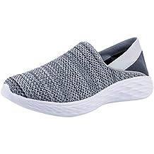Darringls_Zapatos de hombre,Zapatillas de Senderismo Antideslizantes Seguridad La Zapatilla de Hombre Calzado de Correr