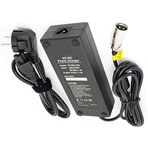Caricabatterie vhbw 220V 100W per e-Bike, Pedelec, batterie per bicicletta