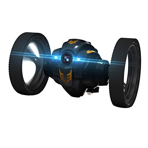 Stunt Car RC Auto, Komplettes Umdrehen in1 Sekunde, 2.4G Live übertragung Kamera Bounce Fahrzeug Spielzeug 360 ° Rotation Fernbedienung Räder Springen Elektrische Kinder Spielzeug auto
