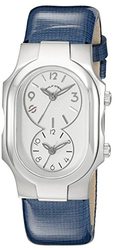 Philip Stein Women's 1-FSW-CSWRBL Signature Analog Display Japanese Quartz Blue Watch