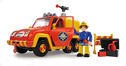 Preisvergleich Produktbild Simba 109251054 - Feuerwehrmann Sam Feuerwehrauto Venus mit Figur