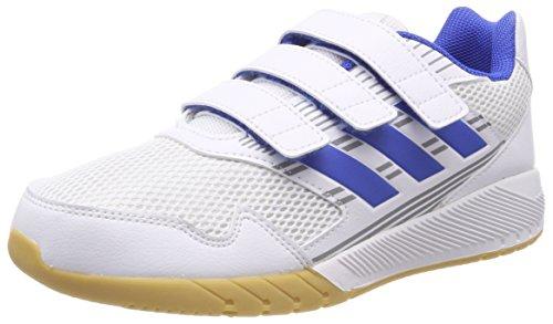 adidas Unisex-Kinder Altarun CF K Fitnessschuhe, Weiß (Ftwbla/Azul/Grimed 000), 30 EU