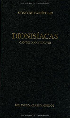 Dionisiacas / Dionysiac: 4