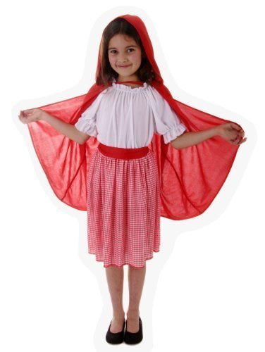 Little Red Riding Hood Fancy Dress Costume Age -