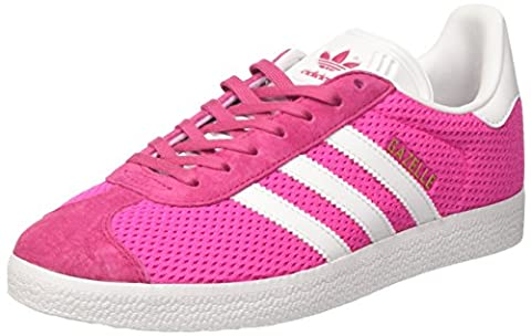 adidas Gazelle, Baskets Basses Homme, Rose (Shock Pink/Footwear White/Shock Pink), 38 EU
