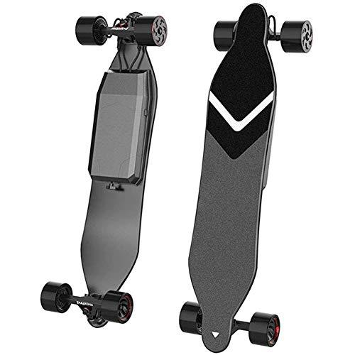 BHHT Elektro-Skateboard Vierrädrige Skateboard elektrisches Skateboard for Teenager und Erwachsene mit zwei Laufwerken Single Motor mit einem Spitzenwert von 1000 W und einer Reichweite von 20 Kilomet*