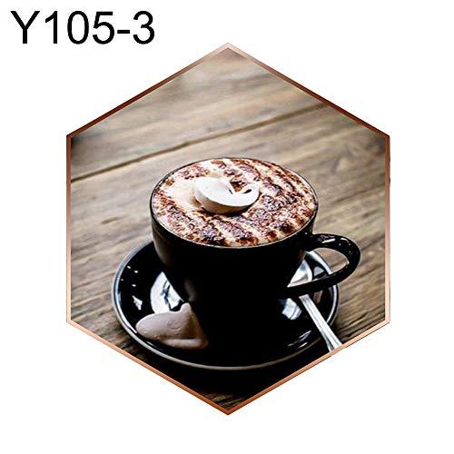 rei Kits Vollbohrer, DIY Diamant Gem?lde K?stlicher Kaffee DIY Kreuzstich Stickerei Handwerk Volle Runde Diamant Malerei - Y105-3 ()