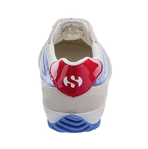Superga 2832-nylu white-blu-red WHITE-BLU-RED