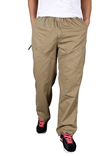 Abbigliamento uomo casual moda pantaloni cargo Plus Size pantaloni Yellow