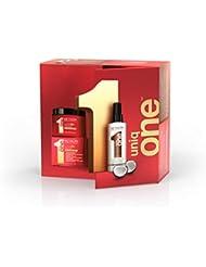 REVLON PROFESSIONAL Coffret cadeau UniqOne Coco - Edition Spéciale Hair Treatment Coco 150 ml + Supermask 300 ml