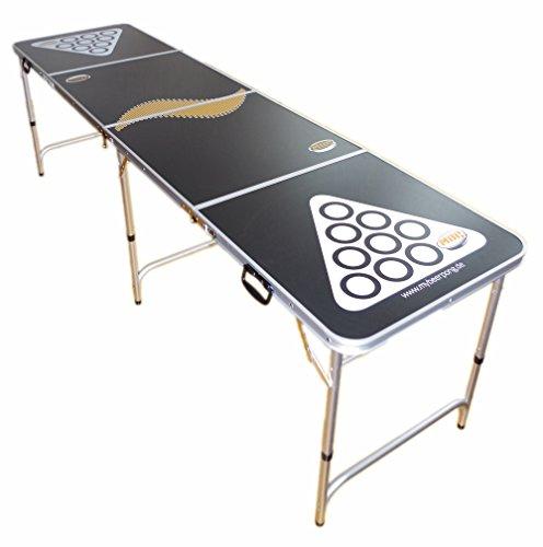 Beer Pong Tisch / Bier Pong Tisch inkl. 6 Bälle - Maße 244x60 cm thumbnail