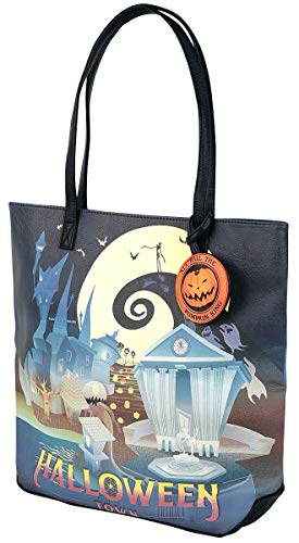 (The Nightmare Before Christmas Loungefly - Halloween Town Tragetasche Multicolor)