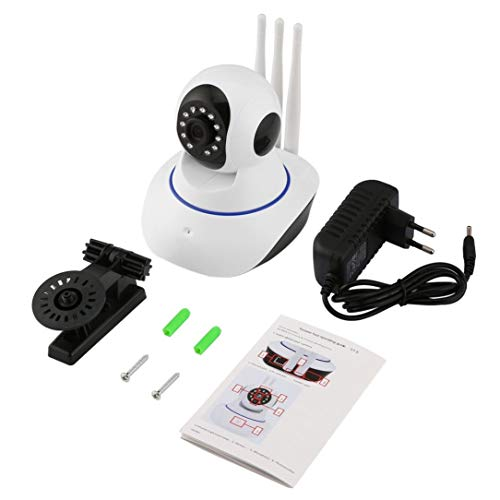 Wireless WiFi Alarm Camera 720P HD IP Network Camera Pan/Tilt 360 Degree IR Security Baby/Pet Monitor CAM Motion Detection Tilt Network Cam