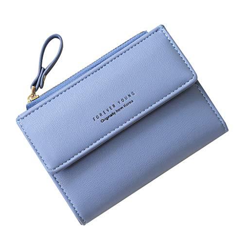 Mitlfuny handbemalte Ledertasche, Schultertasche, Geschenk, Handgefertigte Tasche,Antimagnetic Handheld Damen Short Vertical Wallet Geldbörse mit Reißverschluss Programmierbare Handheld