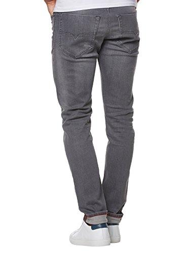 Diesel Herren Slim Jeans Grau