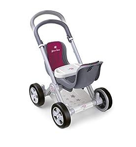 Silver Line- Carrito de Paseo para muñecos Bebés Gemelos, Color Rojo (Famosa 800008883)