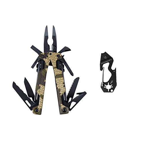 Leatherman OHT Camouflage mit Holster und Shot Multitool in Box