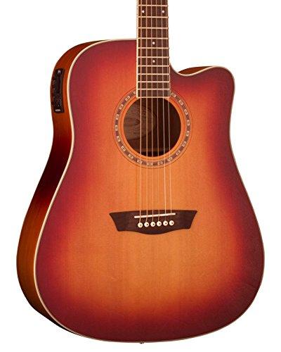 Washburn Heritage 10 Serie Hd10scetb Guitarra Acústica Nuevo En Caja The Latest Fashion Acoustic Guitars