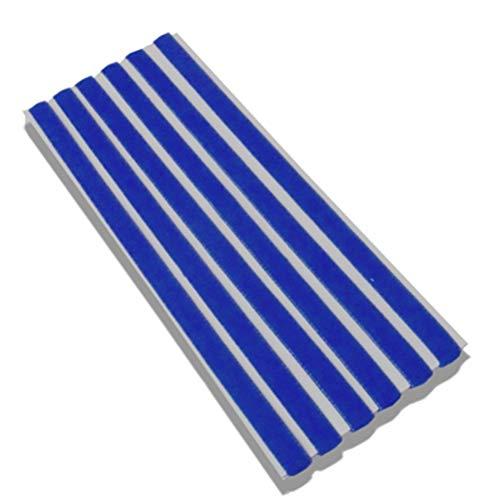 samSN Sport Elastisches Stirnband Softball Gummi Kunststoff Silikon Haarband Bandage Auf Kaugummi Für Haar Blau 4er Set -