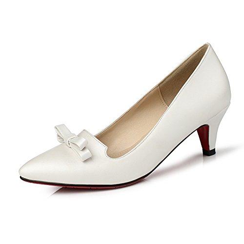 adeesu-girls-dance-ballroom-mid-heel-mule-white-polyurethane-pumps-shoes-25-uk