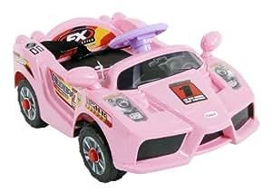 kinderfahrzeug arti mustang je009 pink rosa auto kinder. Black Bedroom Furniture Sets. Home Design Ideas