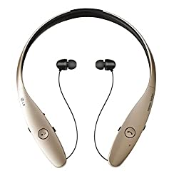 638b5a30091 33%off LG Electronics Tone Infinim HBS-900 Bluetooth Wireless Stereo Headset-  Retail Packaging - Gold