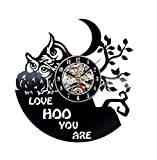 CD Record Horloge Murale Design Moderne Pokemon Carto Horloges Vintage Style Retro VinyleMur Montre Home Decor Silent 12 Pouces