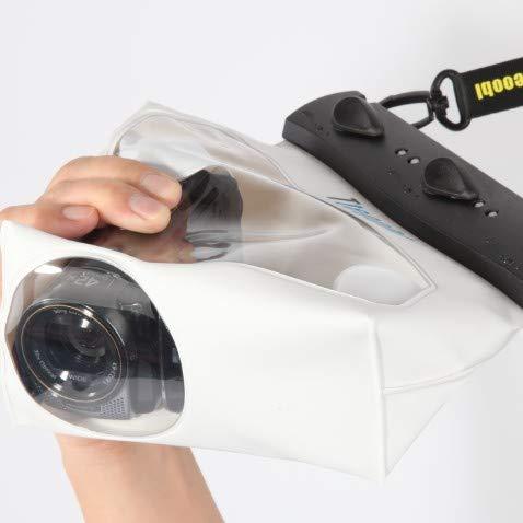 FSD—MJ 20M Handheld DV wasserdichte Taschen Videokamera Schutzbeutel Unterwasser trockenen Fall Scuba Dive Schwimmen Cover Gehäuse, weiß