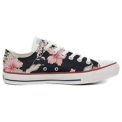 Converse Fleur - Converse All Star Chaussures coutume mixte adulte