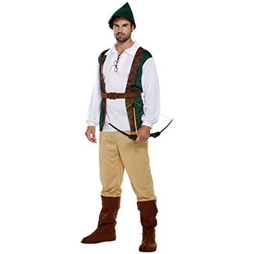 Robin Hood Größe 48-52 Faschingskostüm Jäger Räuber (Robin Hood Weste)