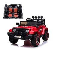 Bellissima Jeep Adventure rosso 12V per bambiniFull Optional. Modello adatto anche sullo sferrato grazie alle sue sospensioni reali, questaJeep Adventureè dotata di2 motori potentimarcia avanti e indietro è un incontro tra sport e avventura. La ...