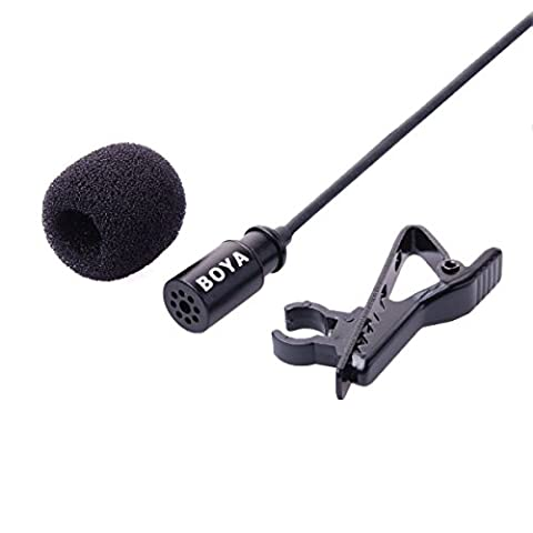 BOYA Mini USB microphone externe clip BY-LM20 pour GoPro Hero 3 3+ l'appareil photo LF492