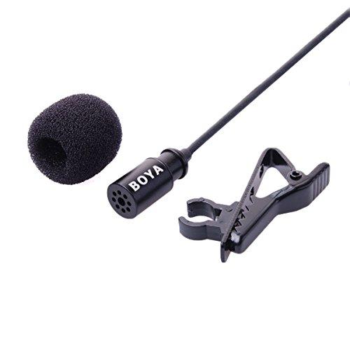 Descripción:      Clip-on micrófono para GoPro Hero 2, 3, 3 +, Videocámaras    Micrófono de condensador omnidireccional    De alta calidad micrófono es ideal para aplicaciones de vídeo             Características:      Transductor: Condensador El...