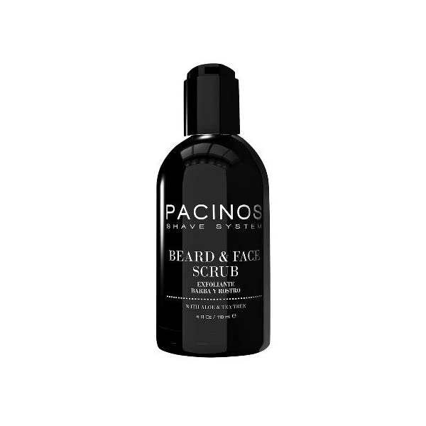 Pacinos Beard & Face Scrub 118 ml