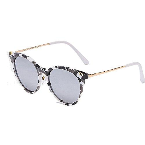 Yiph-Sunglass Sonnenbrillen Mode Kinder Sonnenbrille Camouflage Rahmen Jungen Durable Kinder Polarisierte Linse UV-Schutz Sonnenbrillen Outdoor Angeln Jagd Bootfahren Sonnenbrillen (Farbe : Grau)