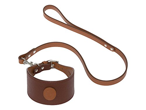 trussardi-damen-hundehalsband-echtleder-braun-one-size