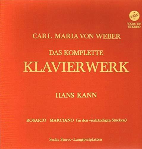 Hans Kann - Das Komplette Klavierwerk - VOX - VXDS 107 (Kann Vinyl Box)