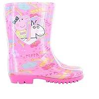 Girls Peppa Pig Wellington Boots Size 4 5 6 7 8 9 10 Infants