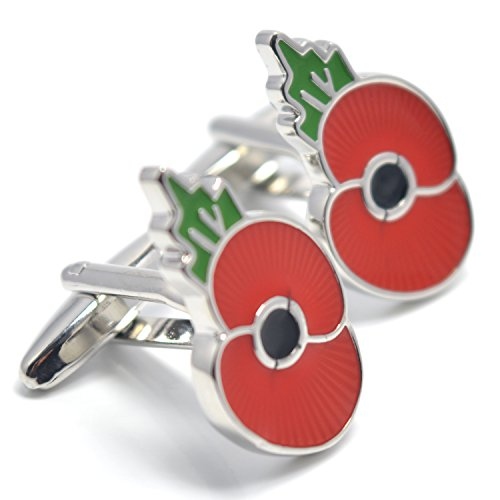 mese-london-red-poppy-cufflinks-silver-army-heroes-buttons-elegant-gift-box