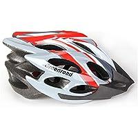 MAXTK Casco de Bicicleta de montaña para Hombre y Mujer, Casco de Ciclismo, Deportes al Aire Libre, Casco de Seguridad, Rojo