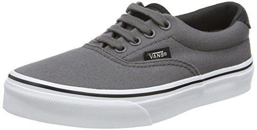 Vans Unisex-Kinder Era 59 Low-Top Grau (C&P pewter/black)