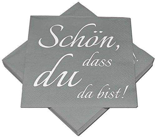 60x Servietten Dots 33x33cm hellgrün Geburtstag Hochzeit Taufe Tischdeko
