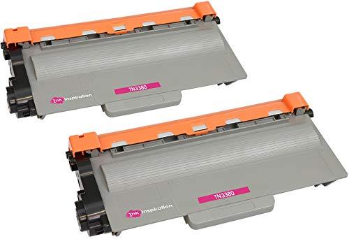 2 Premium Toner kompatibel für Brother TN3380 DCP-8110DN DCP-8250DN HL-5440D HL-5450D HL-5450DN HL-5450DNT HL-5470DW HL-5480DW HL-6180DW HL-6180DWT MFC-8510DN MFC-8520DN MFC-8950DW   8.000 Seiten
