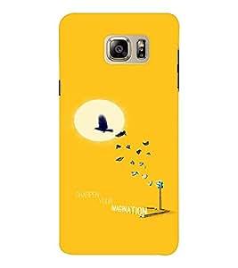 EPICCASE Sharpen your imagination Mobile Back Case Cover For Samsung Note 6 (Designer Case)